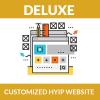 Customized HYIP website - Deluxe