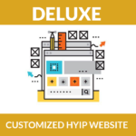 Customized HYIP website – Deluxe Package