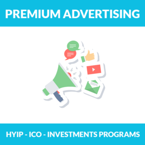 Premium HYIP Advertising