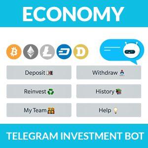 Telegram Investment Bot – Economy Package 2020