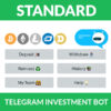 Telegram Investment Bot - Standard