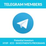 Telegram Members Crypto Investors