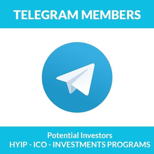 Telegram members