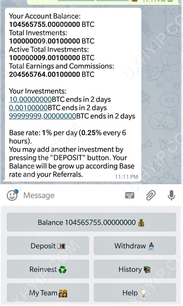 UXHYIP-Telegram-Investment-Bot-Screenshot-3