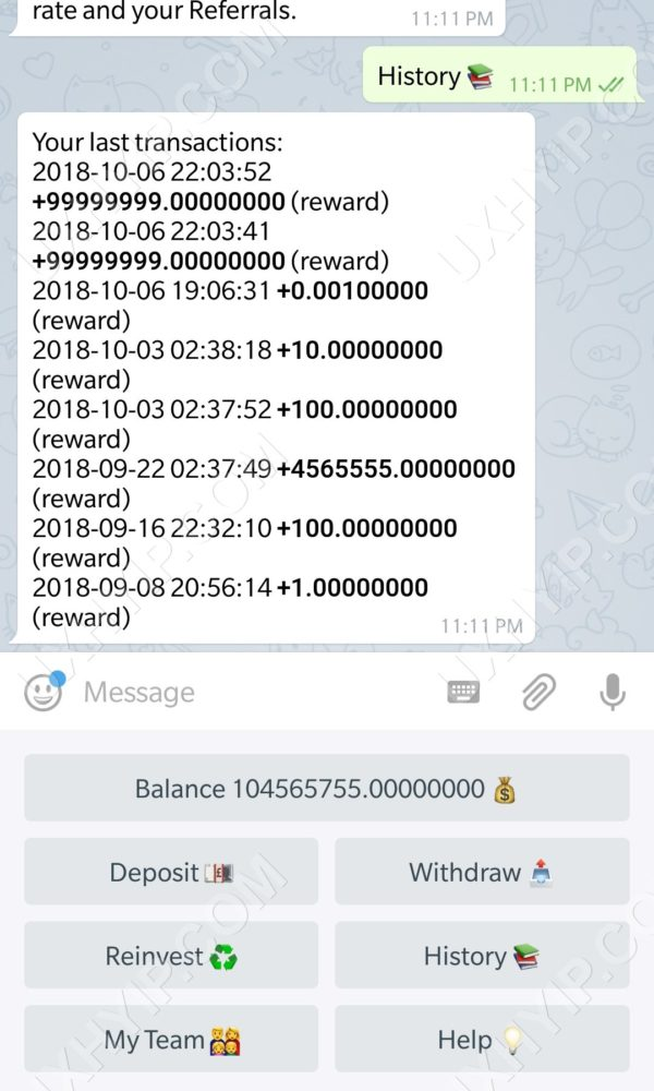 UXHYIP-Telegram-Investment-Bot-Screenshot-4