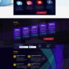 HYIP Template - Investment Business Template AxulMining ID 105