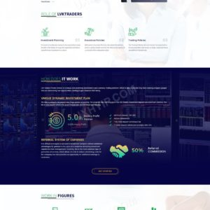 HYIP Template – Investment Business Template LVKTraders ID 109
