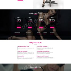 HYIP Template – Investment Business Template FashionCapital ID 112