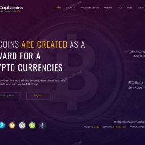 HYIP Template – Investment Business Template CopleCoins ID 148