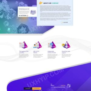 HYIP Template – Investment Business Template SiriusInvest ID 151