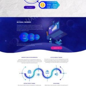 HYIP Template – Investment Business Template NewInvest ID 152