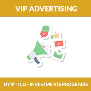 VIP HYIP Advertising