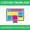customized hyip template