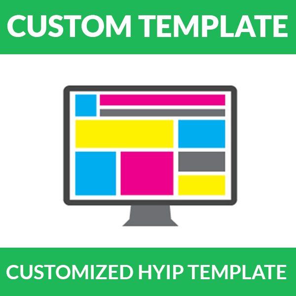 customized hyip template