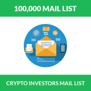 Crypto Investors Email List / Database