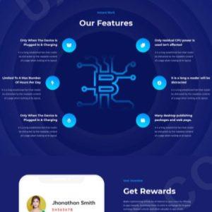 Premium Bitcoin Cloud Mining Script V2 2020